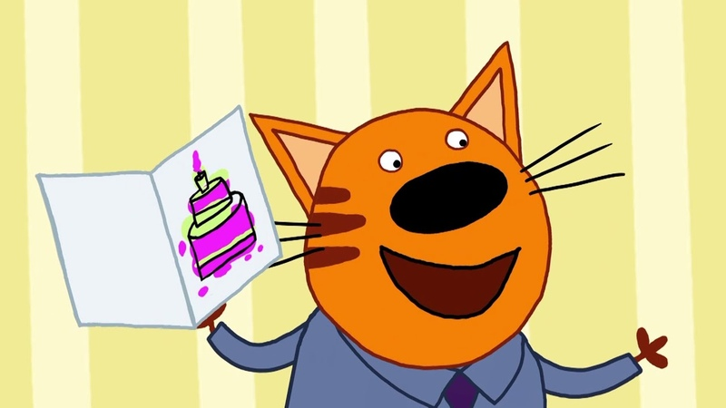 Kot-O-Ciaki | Grająca Kartka Urodzinowa! | Bajki dla dzieci | Epizod 1