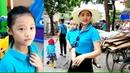 Gia Linh và chị Silent Sea thi thăm quan dã ngoại vườn Sinh thái cùng trường mầm non MIPEC