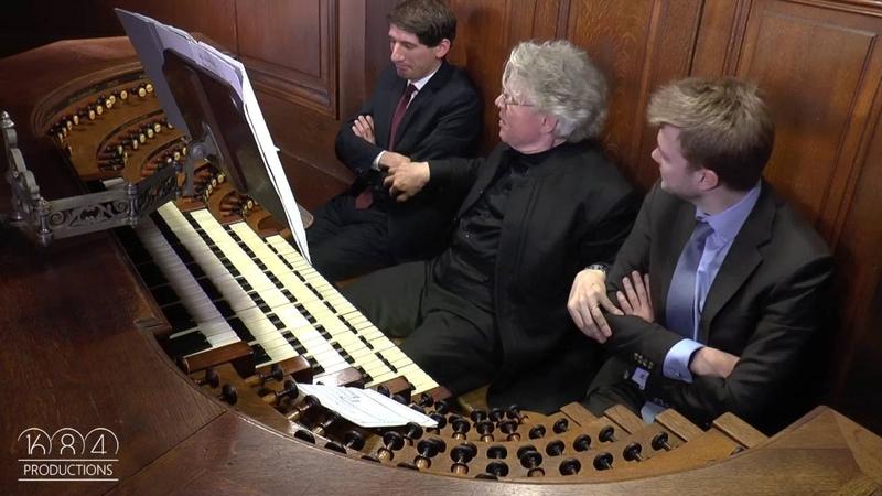 Saint Sulpice organ Daniel Roth plays Durufle Suite Prélude April 2016