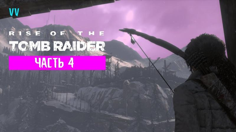 Прохождение Rise of the Tomb Raider. Часть 4 - Волчья пещера, склеп и фарм.