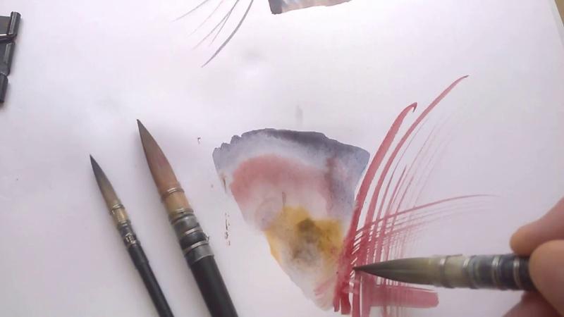 Кисти Aquarelle Quill от Pinax