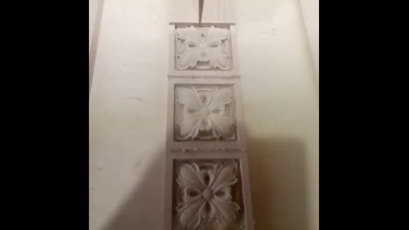 Стол 200*100 (+50) см., раздвижной 2-х тумбовый стол из массива бука Цвет: Слоновая кость от компании Производитель мебели msad5 - видео 2