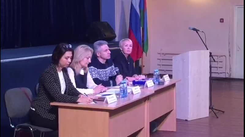 Встреча с жителями Пряжинского района.
