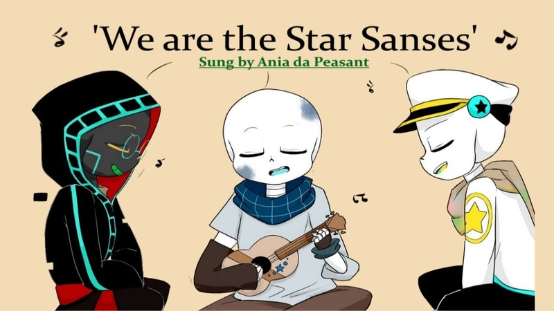 'Star Sanses!' Sung by Pallete, Blueprint and Gradient