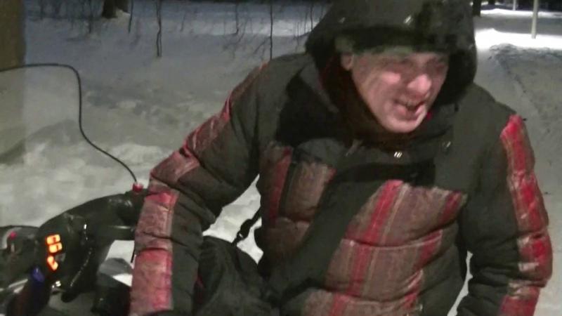 Linx 4 тактник Нарезка лыжни Соревнование дочки Судоверфь TV Коми край Ukhta