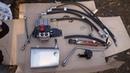 Гидравлика на минитрактор 3 Установка гидрораспределителя подключение к НШ и баку