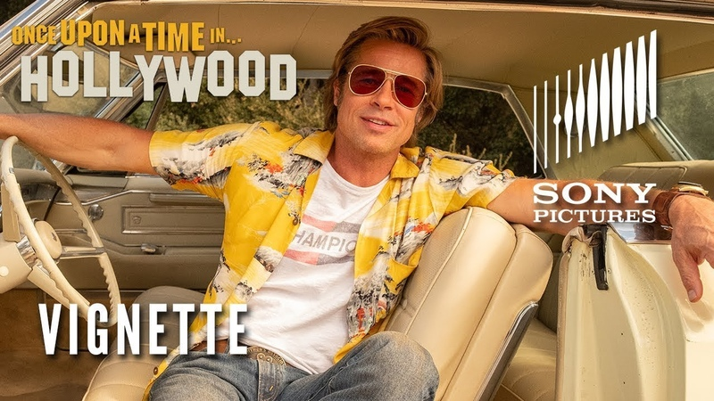 ONCE UPON A TIME IN HOLLYWOOD Brad Pitt Vignette