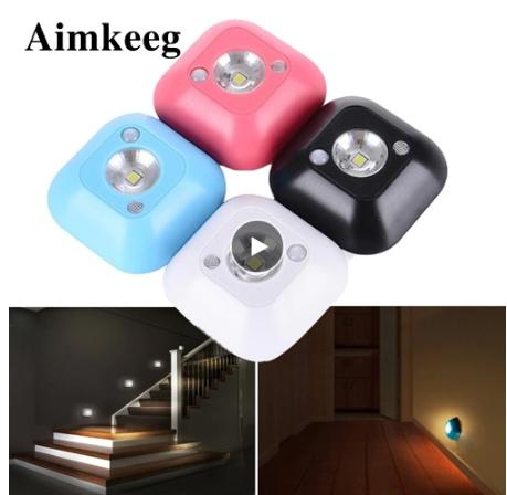 Мини-светильник с датчиком движения