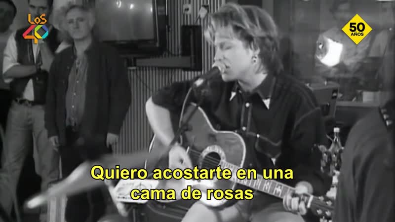 BON JOVI Bed Of Roses Acoustic Concert Madrid 1992