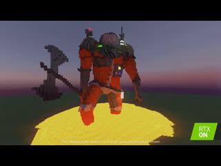 Minecraft с RTX - Карта от Dr_Bond