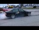 BMW e36 T5 burnout