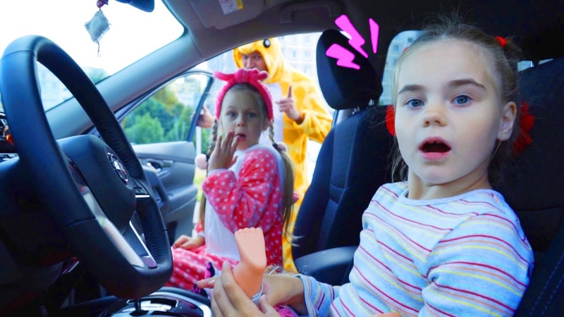 We Are in the Car Song Wheels On The Bus Song for kids