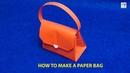 Xếp giấy Origami|Hướng dẫn gấp túi xách thời trang