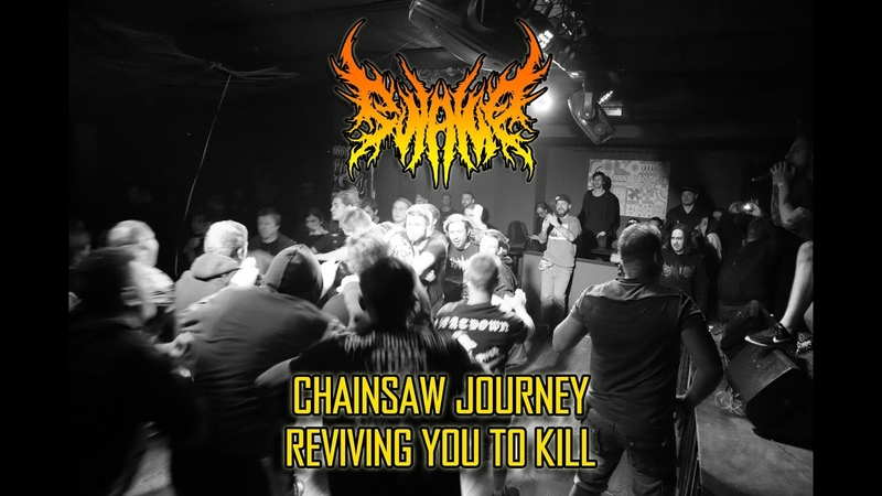 SWAMP - Chainsaw Journey | Reviving You To Kill (Live Katalepsy | 14.09.2019)