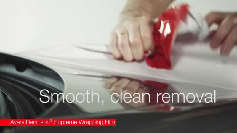 Avery Dennison | Supreme Wrapping Film - Quality comparison