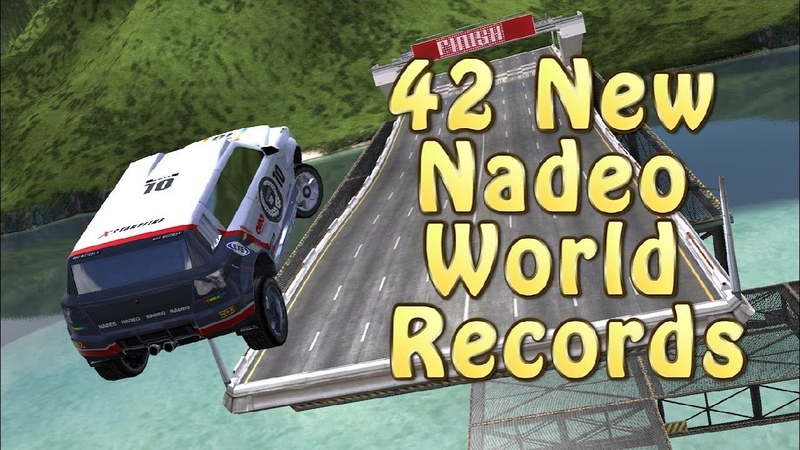My Magnum Opus - 42 New Nadeo World Records (Trackmania)