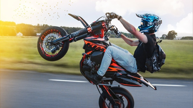 A life worth living SUPERMOTO LIFESTYLE