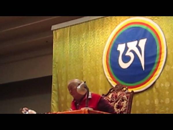 Chögyal Namkhai Norbu Rinpoche Nothing to change
