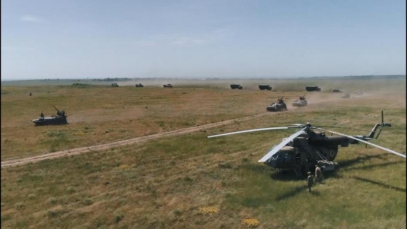 Гатили міномети та танки полк Азов взяв участь у масштабних навчаннях