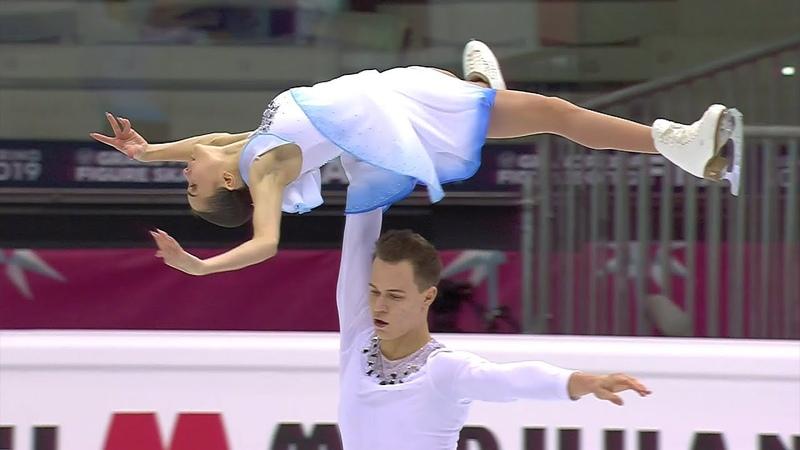 Аполлинария Панфилова и Дмитрий Рылов произвольная программа Финал Гран при 2019