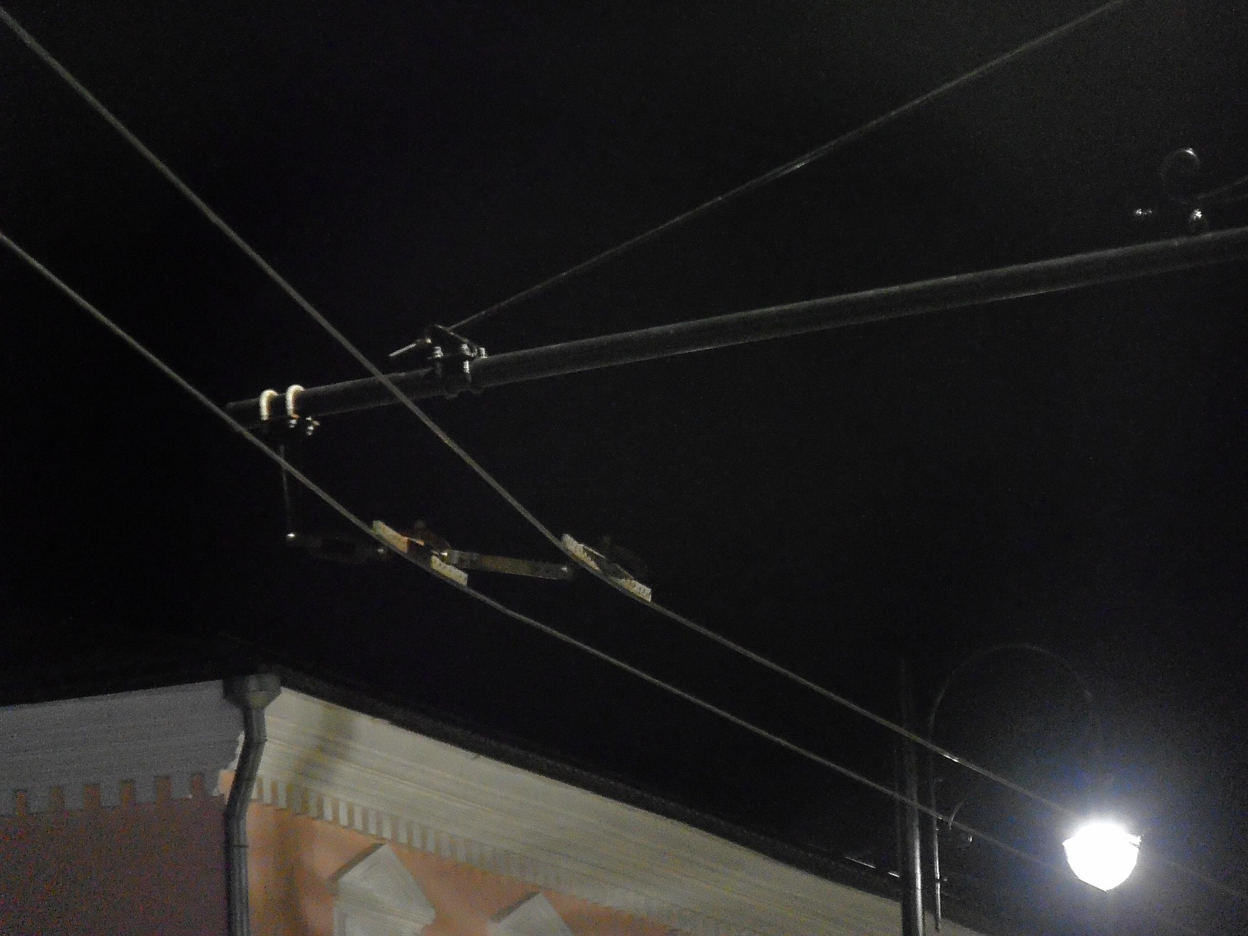 Троллейбусные линии..