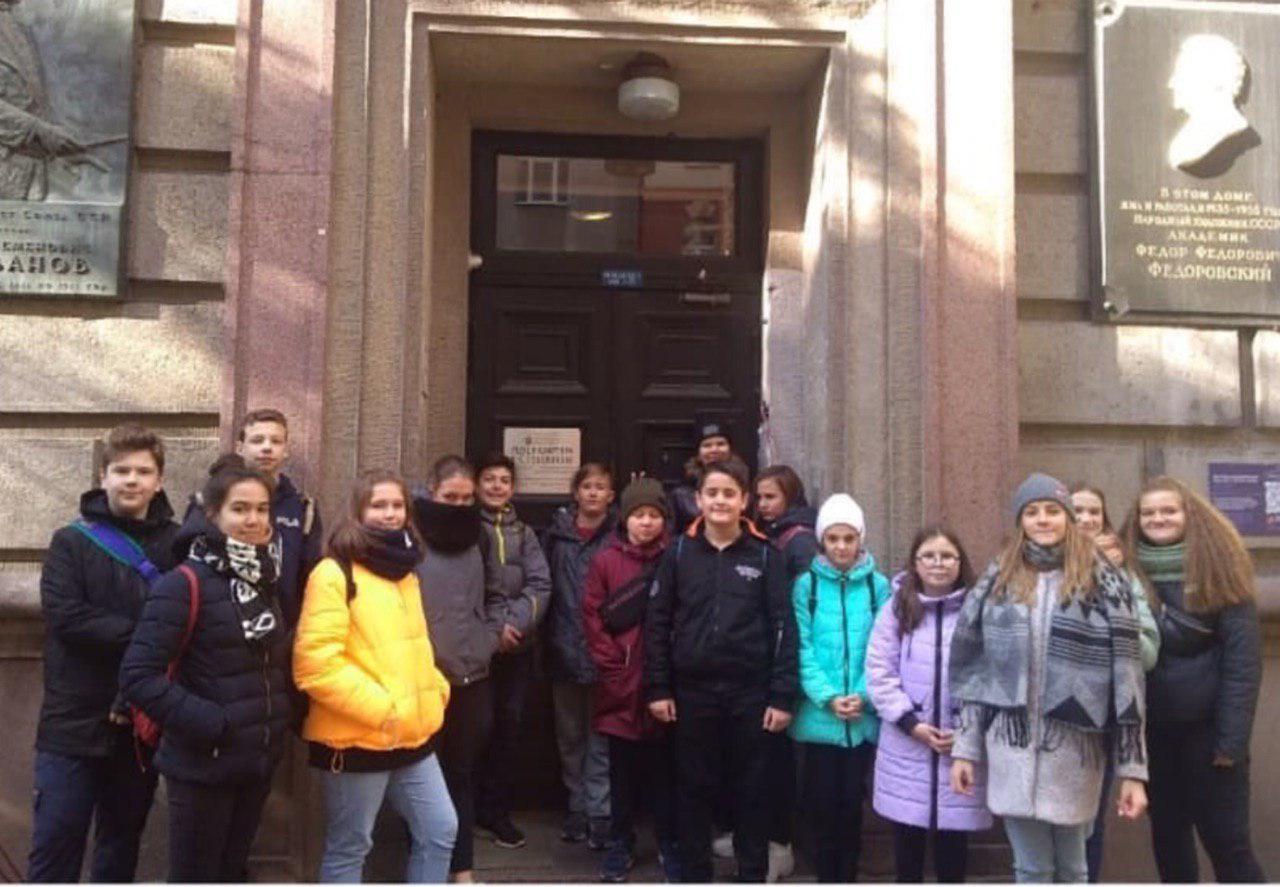 Учащиеся школы № 2089 посетили Российский национальный музей музыки