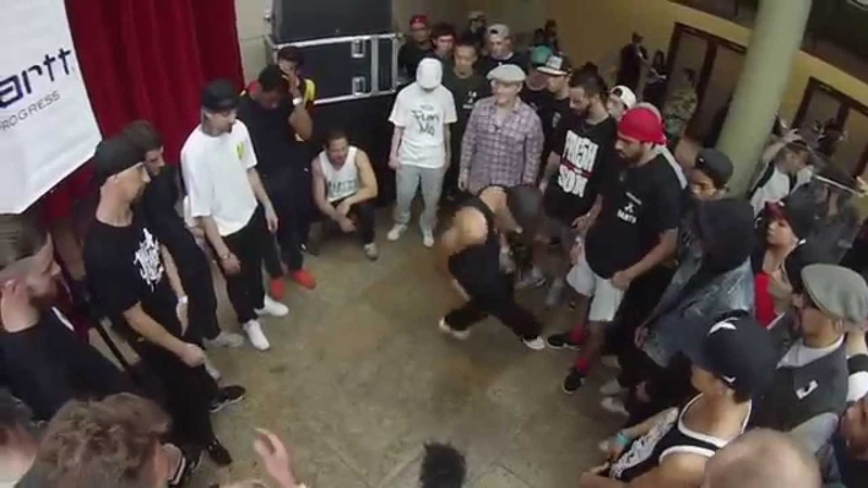 Focus PoeOne Bounce Ippy Pepito AT Freeze Intact more @ Radikal Forze Jam 2014 Day 2 Cypher