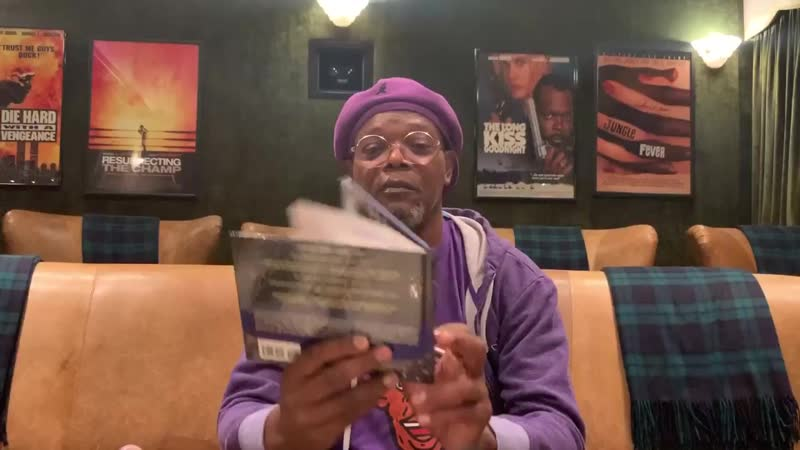 Samuel L Jackson wants you to keep your ass at home