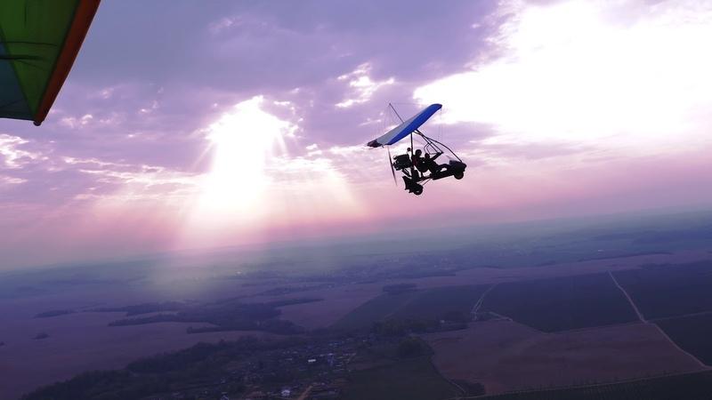 Тестовые воздушные киносъемки с использованием стабилизатора Ronin M на камеру Panasonic GH4