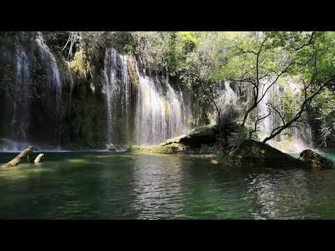Near the waterfall 1h of ambient music for sleeping and meditation