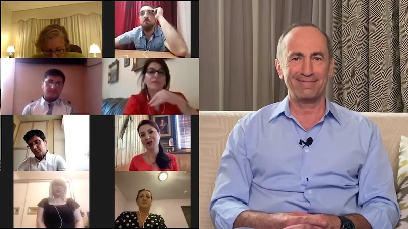 Ռոբերտ Քոչարյանի և իր աջակիցների Zoom-հանդիպման մանրամասները