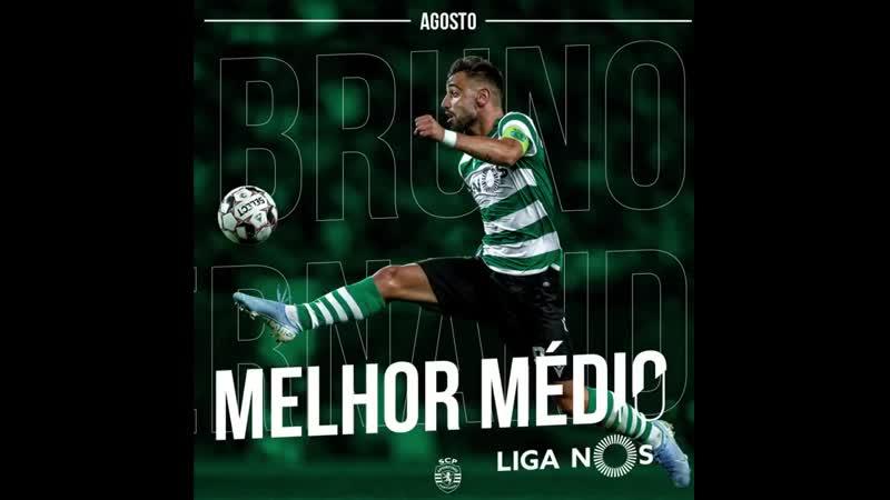 A época mudou mas o prémio de melhor médio do mês não muda de destinatário 😎 Parabéns @B Fernandes8 🙌 SportingCP