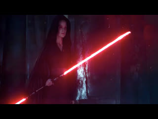 Star wars, reys new lightsaber looks slick..