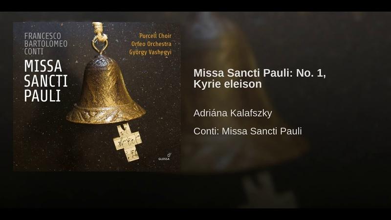 Missa Sancti Pauli No 1 Kyrie eleison