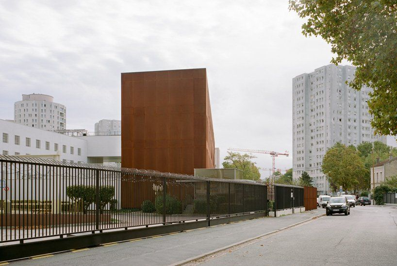 LAN completes monolithic minimum security prison in Nanterre, France