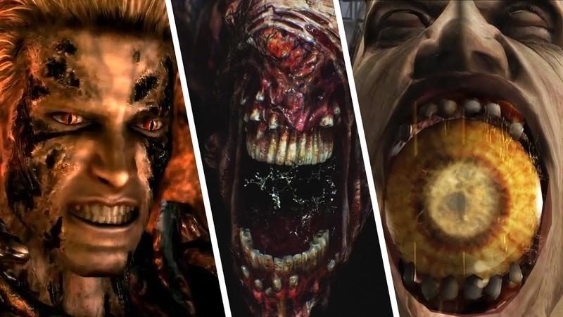 All Final Bosses in Main Resident Evil Games