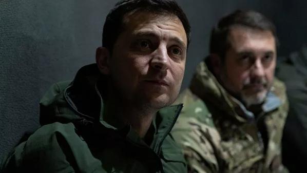 Зеленский посетил позиции украинских военных на линии соприкосновения