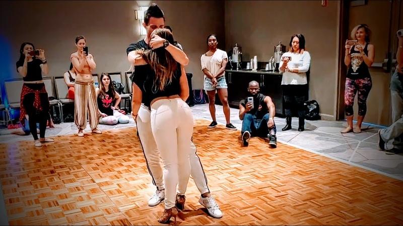 Rick Torri Larissa Secco Brazilian Zouk Dance in Atlanta