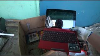 В мусоре нашёл ноутбук, смартфон, samsung , sony , рубашку как в гта вай сити, много других приколюх