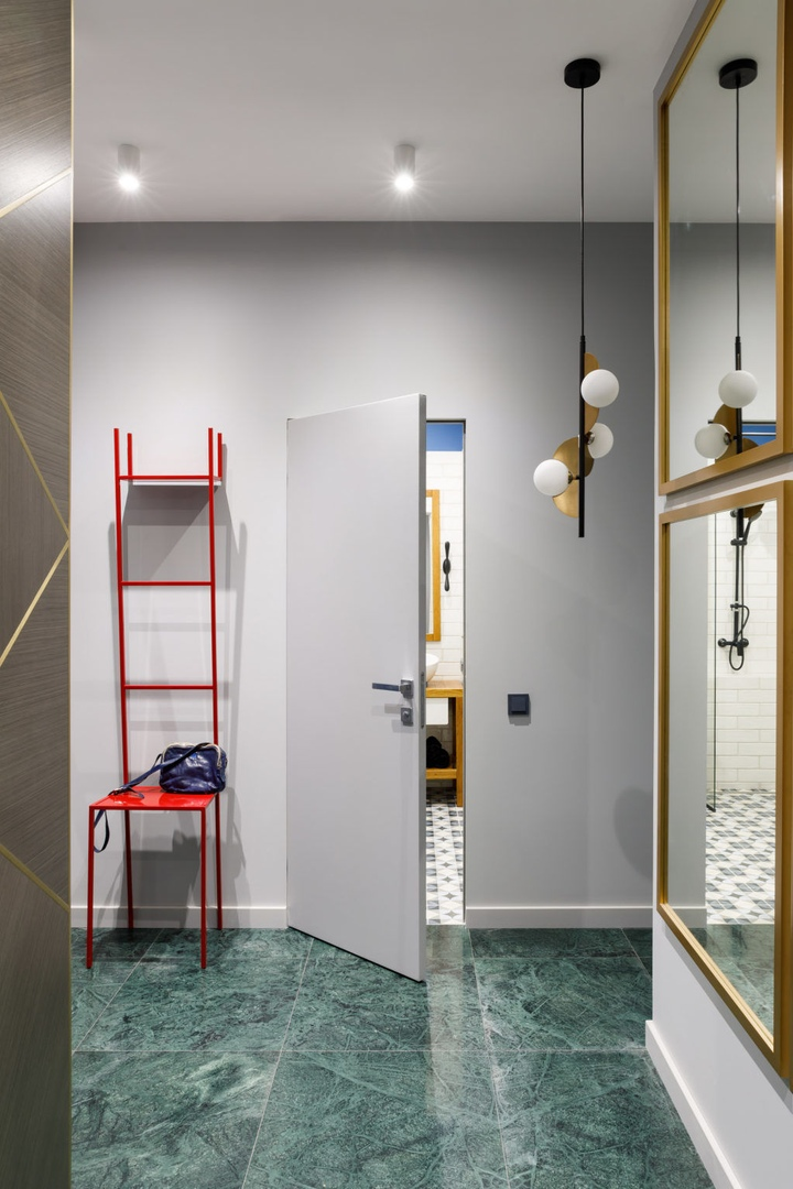 Квартира в Санкт-Петербурге (46 м²) от Анны Ивановой из Omnia Studio