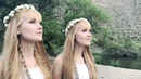 Beneath the Midnight Sun SUMMER SOLSTICE Original Song Harp Twins Camille and Kennerly