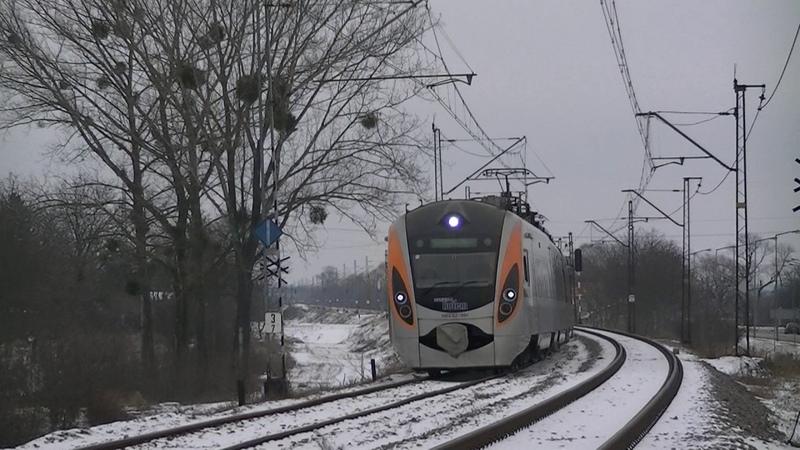 HRCS2 001 Rotem Kijów Przemyśl Ukrzaliznycia Укрзалізниця Przemyśl