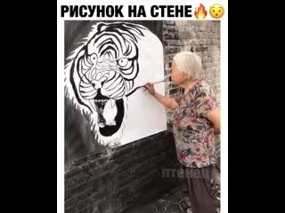 Бабуля с талантами! ツ