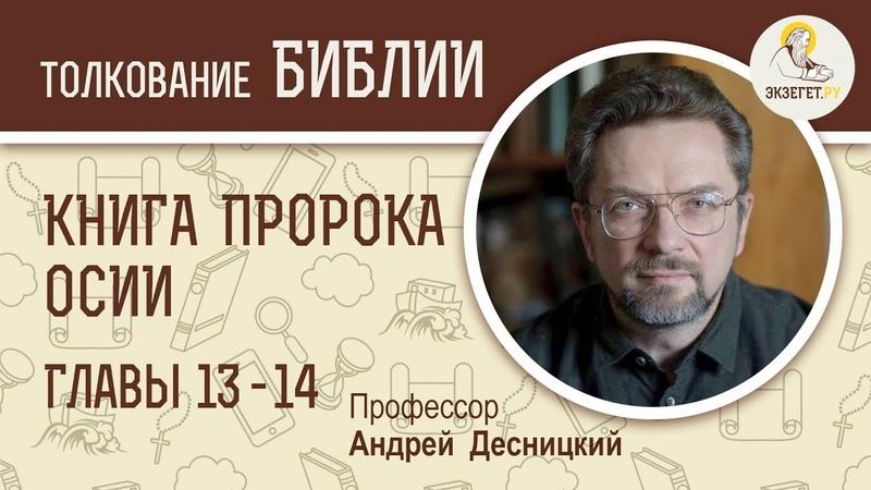 Книга пророка Осии. Глава 13-14. Библия. Профессор Андрей Десницкий.