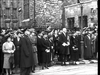 Memorial Service For Duke Of Kent - 1942 (1942)