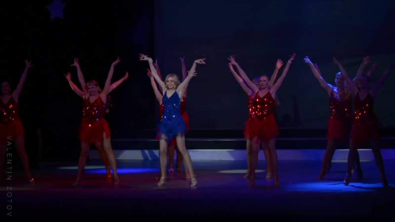 Танец Альбины Самусевой🎉 на ШОУ КОНКУРСЕ Звездная Красавица