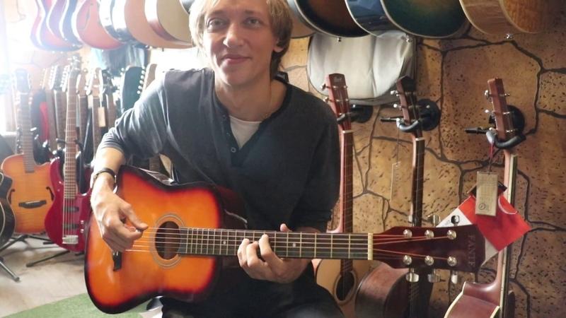 Обзор акустической гитары Fante FT-R38B 3TS