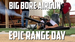 AirForce Texan.50 Cal at 1000 Yards and Big Bore Airgun Interview with Chad Simon from Lethal Air!