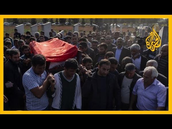 أهالي مدينة بردا بأذربيجان يشيعون قتلاهم والسلطات تتهم أرمينيا باستهداف المدنيين 🇦🇲🇦🇿