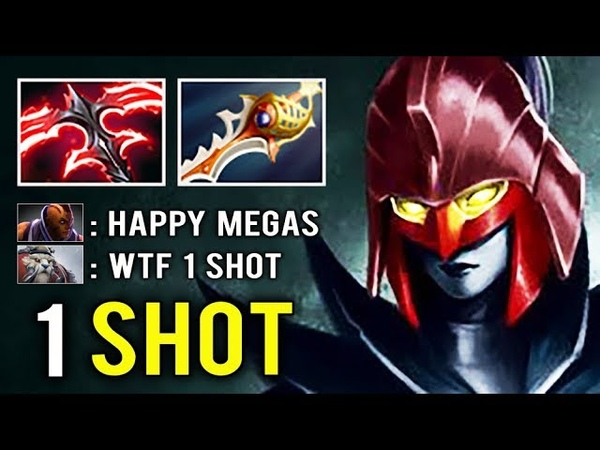 DESO LEVEL 2 RAPIER 1 Shot Kill Megacreeps Defense vs Anti Mage Crazy Crit Comeback PA Dota 2